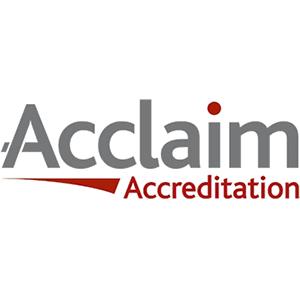 Acclaim-Accreditation